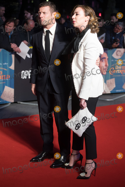 David Copperfield, Dermot O'Leary, Leicester Square Photo - London, UK. Dermot O'Leary and wife Dee Koppang  at The European Premiere of 'The Personal History of David Copperfield' at The 63rd BFI London Film Festival at Odeon Luxe, Leicester Square, London, England, UK.  Wednesday 2 October 2019.  Ref: LMK370 -J5534-031019Justin Ng /Landmark Media. WWW.LMKMEDIA.COM.