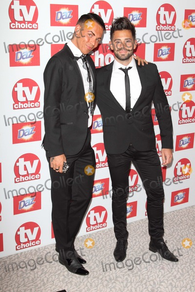 Bobby Norris Photo - London, UK. Bobby Cole Norris ad Charlie at the TV Choice Awards - sponsored by Daz - Inside Arrivals at the Dorchester Hotel, Park Lane. 10th September 2012.Keith Mayhew/Landmark Media