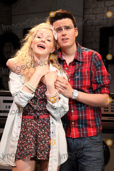 The Stage, Amy Lennox Photo - London, UK. Amy Lennox and Thomas Milner at the Stage photocall for 'Soho Cinders' at the Soho Theatre, Dean Street. 7th August 2012.Keith Mayhew/Landmark Media