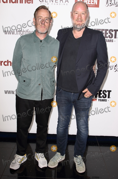 Michael Smiley, Ant Timpson, Michael Bublé, Michael Paré Photo - London.UK.     Michael Smiley and Ant Timpson at  Come To Daddy screening -  FrightFest 2019: Opening Night at the Cineworld Empire, 22nd August 2019. Ref:LMK73-S2755-230819Keith Mayhew/Landmark Media WWW.LMKMEDIA.COM