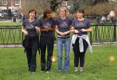 Arabella Weir, Emma Forbes, Hermione Norris, Shazney Lewis Photo - London. Emma Forbes, Shazney Lewis, Hermione Norris and Arabella Weir launch the five km charity walk 'Race for life' for Cancer Research Uk, at Lincoln's Inn Fields.16 March 2005Eric Best/Landmark Media
