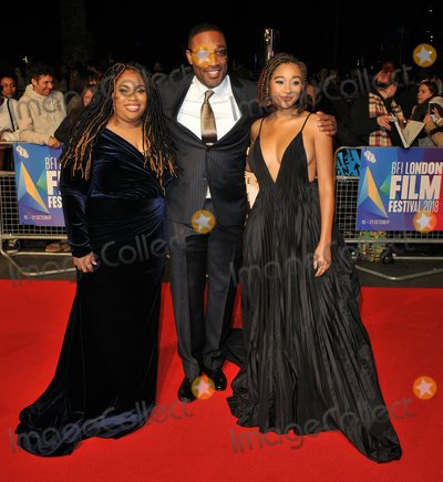 George Tillman, George Tillman Jr., George Tillman, Jr., The Specials, Amandla Stenberg, Angie Thomas, Leicester Square Photo - London. UK.  Angie Thomas, George Tillman Jr. and Amandla Stenberg    at  the Special Presentation and European Premiere of 'The Hate U Give'  at The 62nd BFI London Film Festival at Cineworld, Leicester Square, London, England, UK on Saturday 20 October 2018. Ref:  LMK315-S1697-211018Can Nguyen/Landmark MediaWWW.LMKMEDIA.COM