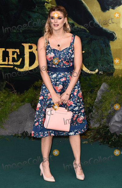 Ashley James, Wednesday 13 Photo - London, UK. Ashley James at The UK Premiere of The Jungle Book at BFI Imax, Waterloo, London on Wednesday 13 April 2016.