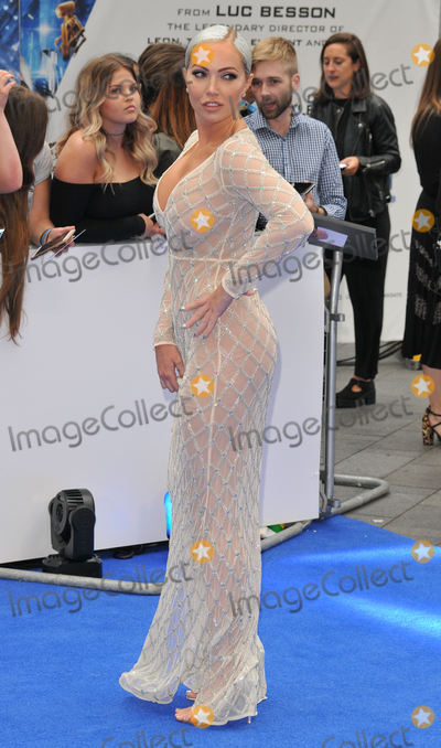 """Aisleyne Horgan-Wallace, Aisleyne Horgan Wallace, Leicester Square Photo - London, UK.  240717.Aisleyne Horgan-Wallace at the """"Valerian And The City Of A Thousand Planets"""" European film premiere held at Cineworld Empire cinema, Leicester Square.25 July 2017.Ref: LMK315-MB340-250717Can Nguyen/Landmark MediaWWW.LMKMEDIA.COM"""