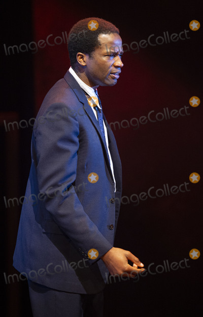 Sope Dirisu, Arthur Miller, Gary Mitchell Photo - London, UK.   Sope Dirisu  at the photo call for the Arthur Miller classic Death of a Salesman at the Piccadilly theatre, West End, London. 1st November 2019. Ref:LMK386-S2535-011119 