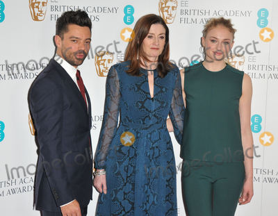 Dominic Cooper, Sophie Turner, Amanda Berry, Amanda Berrie Photo - London, UK.  100117.