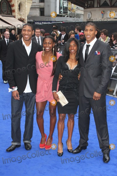 Yamile Aldama, Anthony Joshua, Leicester Square Photo - London, UK.  Drew Sullivan, Perri Shakes-Drayon, Yamile Aldama, and Anthony Joshua   at the UK Premiere of Men In Black 3 held at the Odeon, Leicester Square.16th  May 2012.Keith Mayhew/Landmark Media*ALL