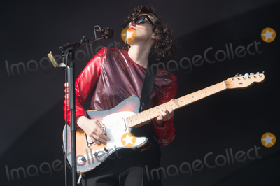 Anna Calvi, Victoria Park, Anna Maria Perez de Taglé Photo - London, UK.  Anna Calvi  performing live on stage during the All Points East Festival at Victoria Park in London. 25th May 2019. 