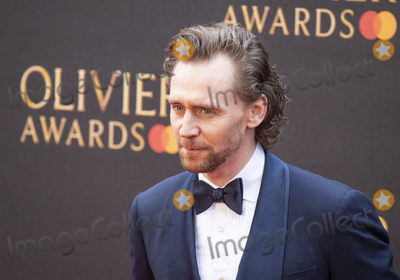Tom Hiddleston, Albert Hall, Tom Hiddlestone, Tom   Hiddleston, Gary Mitchell Photo - London, UK. Tom Hiddleston at The Olivier Awards 2019 with Mastercard at Royal Albert Hall on April 7, 2019 in London, England. 7th April 2019.