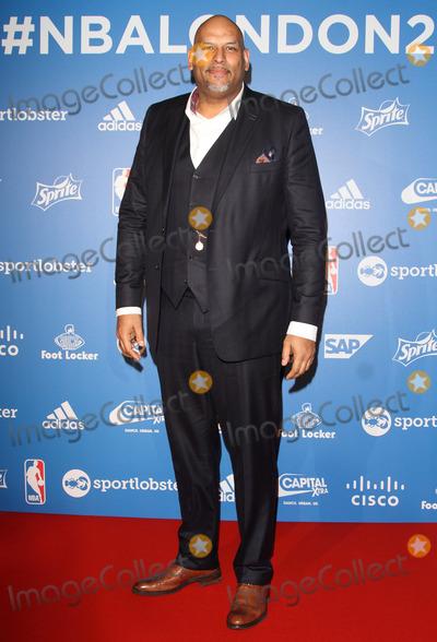 John Amaechi Photo - London, UK. John Amaechi at NBA Global Games Tip Off Party at Millbank Tower, London on January 14th 2015.Ref: LMK73-50387-150115Keith Mayhew/Landmark Media. WWW.LMKMEDIA.COM