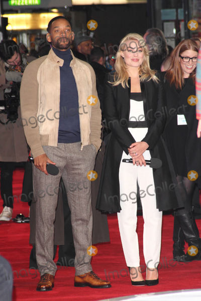 Will Smith, Margot Robbie Photo - London, UK. Will Smith and Margot Robbie at 'Focus' Special Screening at the Vue West End, Leicester Square, London on February 11th 2015