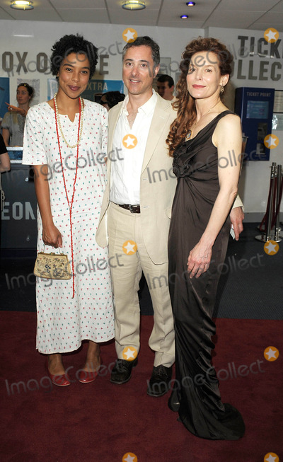 Alice Krige, Sophie Okonedo, Leicester Square Photo - London. UK. Sophie Okonedo and Alice Krige at the UK premiere of 'Skin' held at the Odeon West End, Leicester Square, central London.  2nd July 2009.