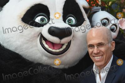 Jeffrey Katzenberg, Leicester Square Photo - London, UK. Jeffrey Katzenberg at the Kung Fu Panda3,European Premiere,Odeon Leicester Square. 6th  March 2016. Ref: LMK326-60293-060316Matt Lewis/Landmark Media. WWW.LMKMEDIA.COM