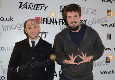 Adam Wingard, Leicester Square Photo - London, UK. Adam Wingard and Simon Barrett  attend  The Guest:  Frightfest 2014 Opening Night Film screening at Vue West End, Leicester Square, London on Thursday 21st August 2014 