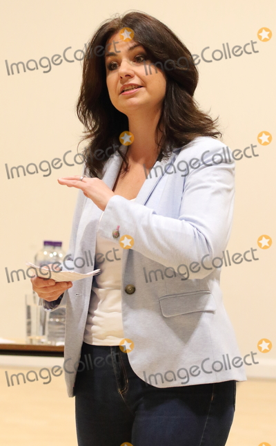 Heidi Allen, Parliament Photo - Cambourne. Cambridgeshire.  Heidi Allen MP addresses a Public Meeting in her constituency of South Cambridgeshire, at Cambourne Village College today.The former Conservative MP, who left the party to join the new Independent Group was named as the interim leader on 29th March. The group is to register as a full political party - to be called 'Change UK  The Independent Group' and contest the upcoming European Parliament elections. Cambourne, Cambridgeshire, UK on Saturday March 30th 2019. Ref:LMK73-S2310-300319 Keith Mayhew/Landmark Media WWW.LMKMEDIA.COM.