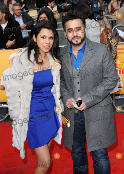 Ameet Chana Photo - London.UK.    Ameet Chana and guest  at the World Premiere of the film comedy The Infidel. Hammersmith Apollo, London. 8th April 2010. Eric Best/Landmark Media.