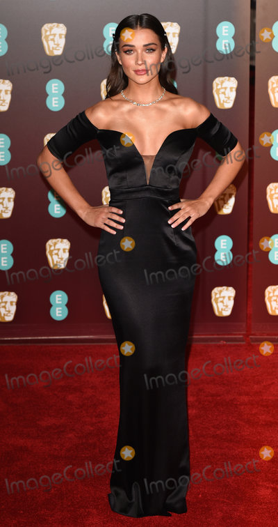 Amy Jackson, Albert Hall Photo - London, UK. Amy Jackson at The EE British Academy Film Awards held at The Royal Albert Hall on Sunday 18 February 2018 Ref: LMK392 -J1596-190218Vivienne Vincent/Landmark Media. WWW.LMKMEDIA.COM.