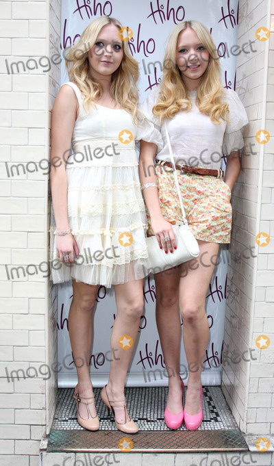 Nick Ede Photo - London, UK. Samantha Marchant and Amanda Marchant at the Nick Ede hosts tea party to launch new 'Lost and Found' jewellery range at Soho House, London. 26th May 2009.
