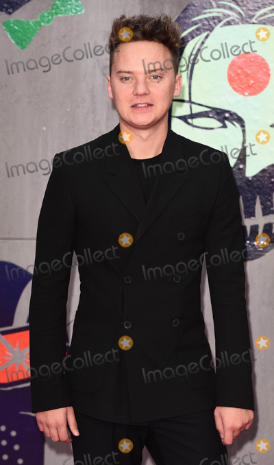 Conor Maynard Photo - London, UK. Conor Maynard at the European Premiere of 'Suicide Squad' at the Odeon Leicester Square, London on August 3rd 2016