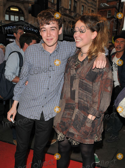 Alex Lawther Photo - London, England, UK.                                                                                                                                                                                                                                                                                                                                                                                                                                                                                                                                                                                                                                                                                                                                                                                                                                                                                                                                                                                                                                                                                                                                                                                                     Alex Lawther & guest at the 'The Mentalists' press night, Wyndham's Theatre, Charing Cross Rd., on Monday July 13, 2015 in London, England, UK.                                                                                                                                                                                                                                                                                                                                                                                                                                                                                                                                                                                                                                                                                   