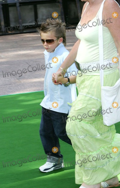 Brooklyn Beckham, Leicester Square Photo - London. Brooklyn Beckham at the UK Premiere of 'Charlie and the Chocolate Factory' at the Odeon, Leicester Square .17 July 2005Keith Mayhew/Landmark Media