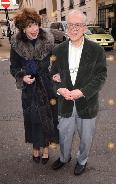 Andrew Sachs, John Cleese Photo - London, UK. Melody Land and Andrew Sachs at The John Cleese Comedy Roast at Mossimans Restaurant, London - November 24, 2013Ref: LMK392 -46019-251113Vivienne Vincent/Landmark Media. WWW.LMKMEDIA.COM.