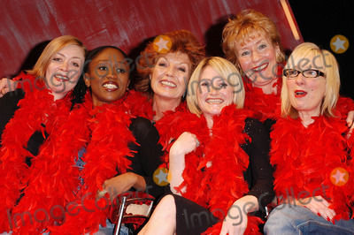 Alison Newman, Christine Hamilton, Diane Parish, Jenny Eclair, Lucy Speed, Rula Lenska, THE PRODUCTS, Leicester Square Photo - London. From the left, Alison Newman, Diane Parish, Rula Lenska, Lucy Speed, Christine Hamilton and Jenny Eclair who will be making apprearances in the production of 'The Vagina Monologues' throughout its run at The Wyndham's Theatre, Leicester Square London.