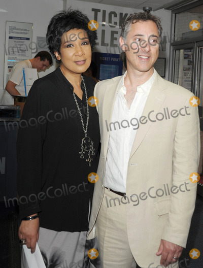 Anthony Fabian, Leicester Square Photo - London. UK. Moira Stuart and Director Anthony Fabian at the UK premiere of 'Skin' held at the Odeon West End, Leicester Square, central London.  2nd July 2009.Ali Kadinsky/Landmark Media