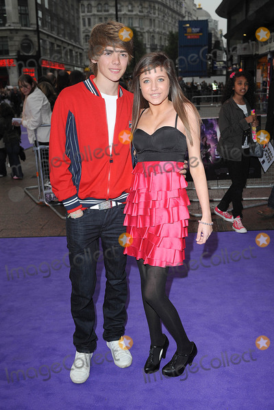 Jona, Jonas Brothers, Madeline Duggan, Thomas Law, Leicester Square Photo - London, UK. Thomas Law and Madeline Duggan at the UK Premiere of 'Jonas Brothers: The 3D Concert Experience', held at the Empire Leicester Square in London. 13th May 2009.