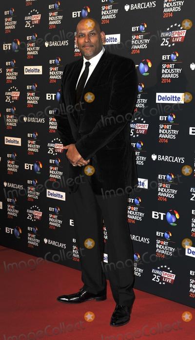 John Amaechi, Gary Mitchell Photo - London, UK. John Amaechi at the BT Sport Industry Awards at Battersea Evolution in London on May 8, 2014. Ref: LMK386-48413-090514Gary Mitchell/Landmark Media. WWW.LMKMEDIA.COM.