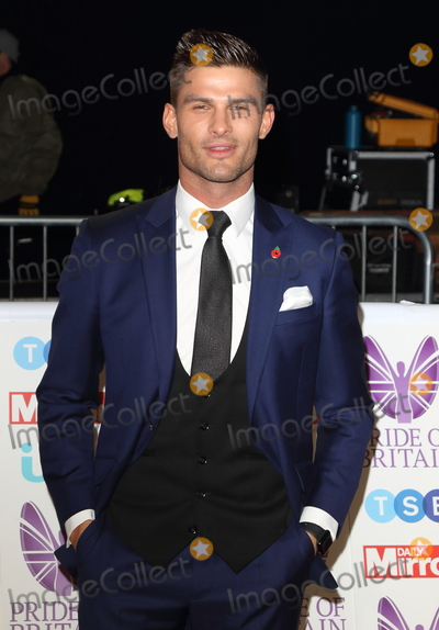 Aljaz Skorjanec, Georgia Toffolo Photo - London, UK. Aljaz Skorjanec at Pride of Britain Awards 2018 at the Grosvenor House, Park Lane, London on Monday 29 October 2018.