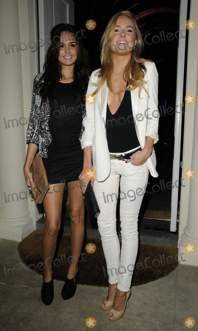 Kimberley Garner, Anita Kaushik Photo - London, UK.  Anita Kaushik & Kimberley Garner   at the Tara Smith Haircare launch party held at Sketch in Mayfair. 26 September 2012.