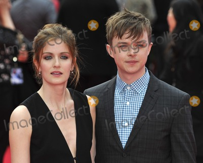 Anna Wood, Spider Man, Spider-Man, Spiderman, Gary Mitchell, Anna Maria Perez de Taglé, Hüsker Dü, Isaach De Bankolé, Leicester Square Photo - London. UK. Anna Wood and Dane DeHaan at  the World Premiere of The Amazing  Spider-Man 2 at The Odeon Cinema, Leicester Square, London, England, UK on 10th April 2014.
