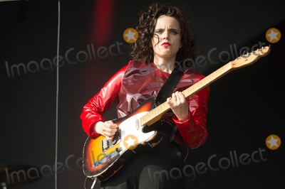 Anna Calvi, Victoria Park Photo - London, UK.  Anna Calvi  performing live on stage during the All Points East Festival at Victoria Park in London. 25th May 2019. Ref:LMK370-2481-260519Justin Ng/Landmark MediaWWW.LMKMEDIA.COM