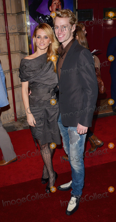 Aliona Vilani Photo - London, UK. Aliona Vilani and Trent Whiddon at the Shaftesbury Theatre, London on Thursday 23rd October 2014  Ref: LMK392 -49901-241014Vivienne Vincent/Landmark Media. WWW.LMKMEDIA.COM.