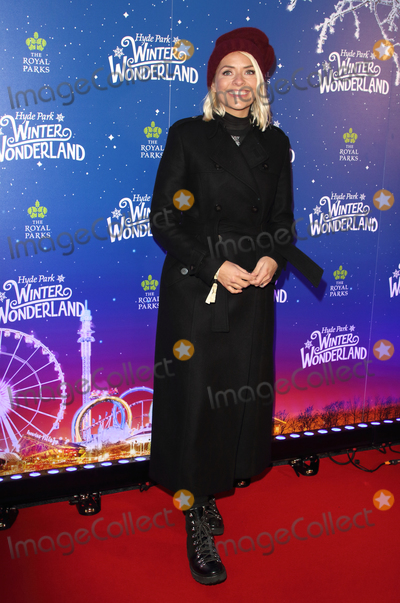 Holly Willoughby, Hollies Photo - London, UK. Holly Willoughby at Winter Wonderland 2019 VIP Launch at Hyde Park, London on November 20th 2019