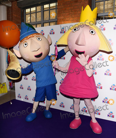 Hollies Photo - London, UK. Sky Kids character - Ben and Holly    at The Sky Kids Cafe Launch Party held at The Vinyl Factory, Marshall Street, London on Sunday 29 May 2016. 