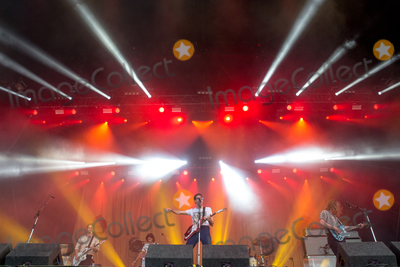 The Vaccines Photo - Southwold, Suffolk. British indie rock band The Vaccines play the Obelisk Arena on the second day of the  2018 Latitude Festival  at Henham Park near Southwold, Suffolk. 14th July 2018Ref: LMK73-J2315-160718Keith Mayhew/Landmark MediaWWW.LMKMEDIA.COM