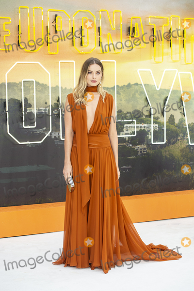 Margot Robbie, Gary Mitchell Photo - London, England. Margot Robbie at  the UK Premiere of Once Upon a Time in Hollywood, Odeon Luxe Leicester Square, London, England. 30th July 2019.