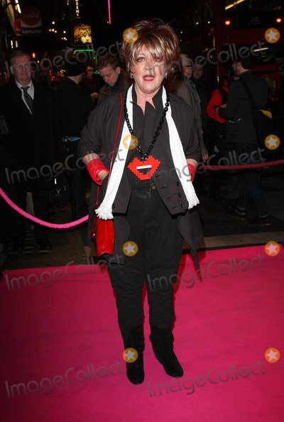 Amanda Barrie, Pink, Amanda Barry Photo - London, UK. Amanda Barrie at the Press night for 'My Trip DownThe Pink Carpet' at the Apollo Theatre, Shaftesbury Avenue. 3rd Feberuary 2011.