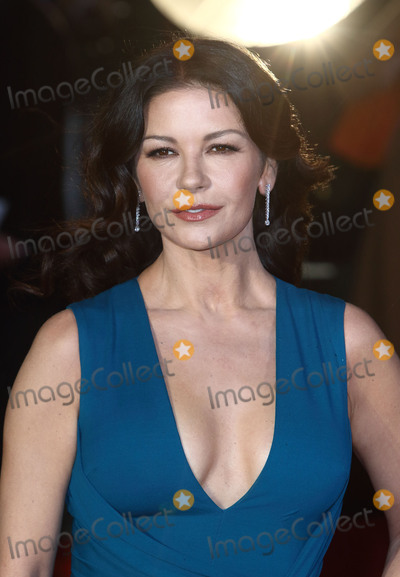 Catherine Zeta-Jones, Leicester Square Photo - London, UK. Catherine Zeta-Jones at 'Dad's Army'  World Premiere at the Odeon, Leicester Square, London, England. 26th January 2016.