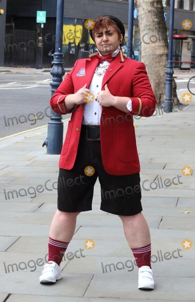 LoUis CYfer Photo - London, UK. LoUis CYfer  at The 'Death Drop' - a Dragatha Christie Murder Mystery - Press Preview photocall at the Garrick Theatre, London. Thursday 12th November 2020.Ref: LMK73-J6969-131120Keith Mayhew/Landmark MediaWWW.LMKMEDIA.COM