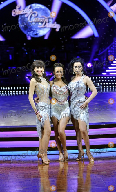 Anita Dobson, Nancy Dell'olio, Nancy Dell'olio, Chelsee Healey Photo - Birmingham. UK.   Anita Dobson, Chelsee Healey and Nancy Dell'Olio  at the  Strictly Come Dancing Live Tour Photocall at the NIA, Birmingham. 19th January 2012.   Keith Mayhew/Landmark Media.