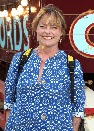 Janet Ellis Photo - London.UK.  Janet Ellis at the Giffords Circus Press Night at the Chiswick House and Gardens, Chiswick, London.  28th June 2018
