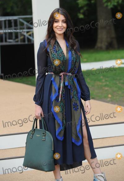 Anushka Sharma Photo - London, UK. Anushka Sharma at Burberry Prorsum fashion show : Spring/Summer 2015 - arrivals, during London Fashion Week. 15th September 2014.Ref: LMK200-49544-150914Landmark MediaWWW.LMKMEDIA.COM
