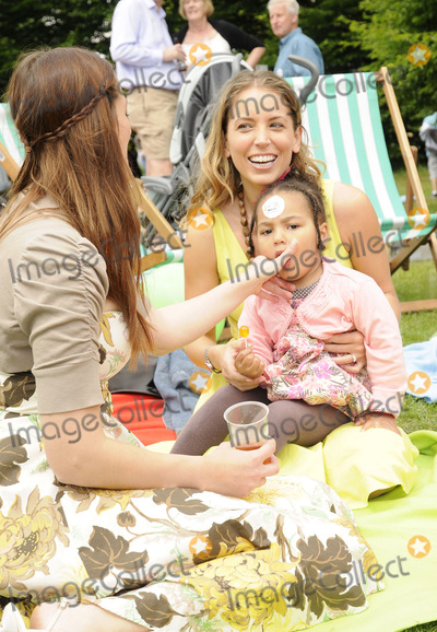 Jasmine Harman, The National Photo - London.UK. Jasmine Harman and Guests  at the National Family Week Launch VIP Picnic held at Regents Park in London. 25th May 2009. 