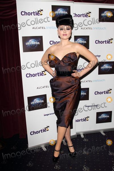 Viktoria Modesta Photo - London, UK. Viktoria Modesta at the Chortle Comedy Awards, held at the Cafe de Paris, Coventry Street. 25th March 2013.Keith Mayhew/Landmark Media