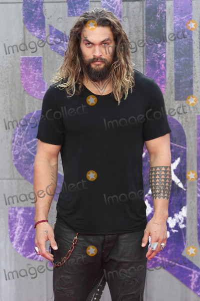 Jason Momoa Photo - London, UK. Jason Momoa at the European Premiere of 'Suicide Squad' at the Odeon Leicester Square, London on August 3rd 2016