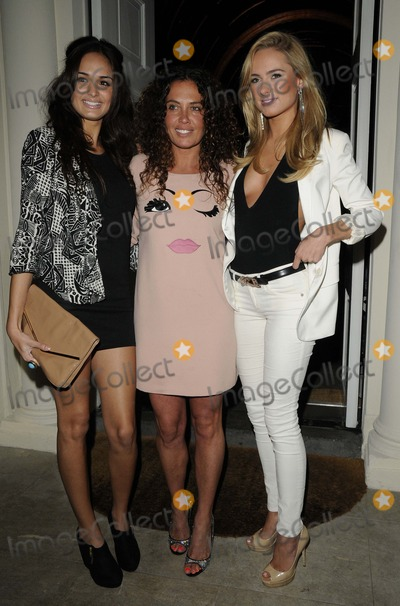 Kimberley Garner, Anita Kaushik Photo - London, UK.  Anita Kaushik, Tara Smith & Kimberley Garner  at the Tara Smith Haircare launch party held at Sketch in Mayfair. 26 September 2012.