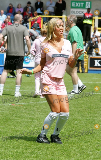 Aisleyne Horgan Wallace, Aisleyne Horgan-Wallace Photo - London, UK. Aisleyne Horgan Wallace at the Music Industry 'Soccer Six' tournament held at Millwall FC's New Den ground in London.  18th May 2008. Keith Mayhew/Landmark Media